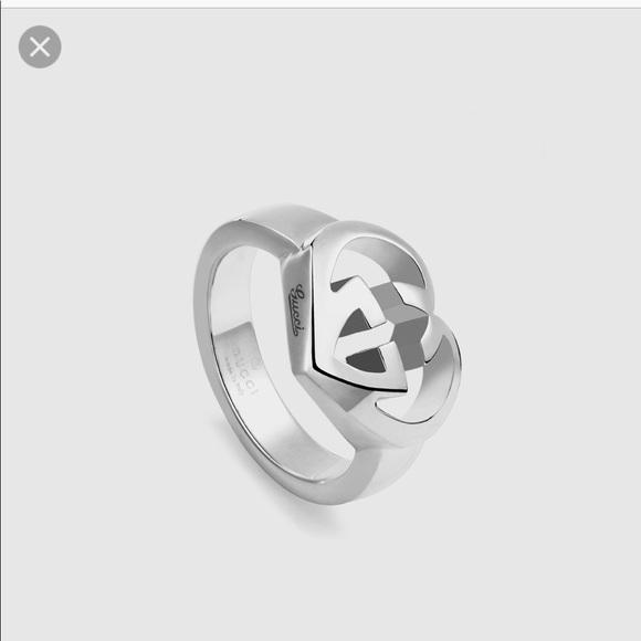 e0d973e5fc9 Gucci Jewelry - Gucci interlock hearts in silver ring